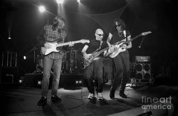 Joe Satriani Photograph - G3 Eric Johnson Joe Satriani Steve Vai by Concert Photos
