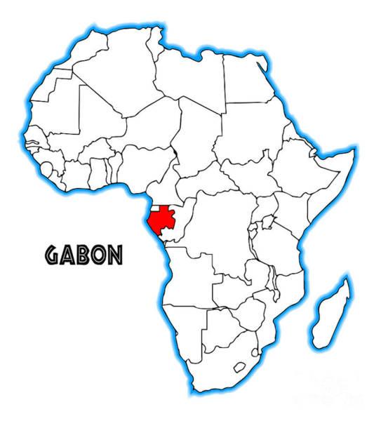 Gabon Digital Art - Gabon by Bigalbaloo Stock