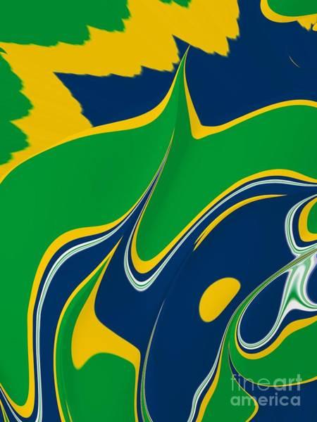 Gabon Digital Art - Gabonesque by John Edwards