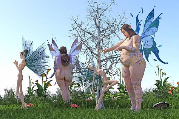 Grass Tree Digital Art - Gained Loss  by Betsy Knapp