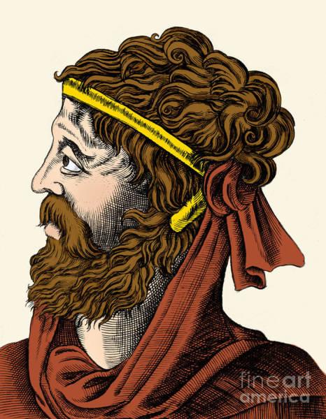 Stye Photograph - Gaius Valerius Catullus, Ancient Roman by Science Source