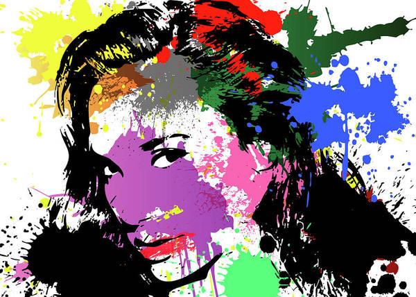 Wall Art - Digital Art - Gal Gadot Pop Art by Ricky Barnard
