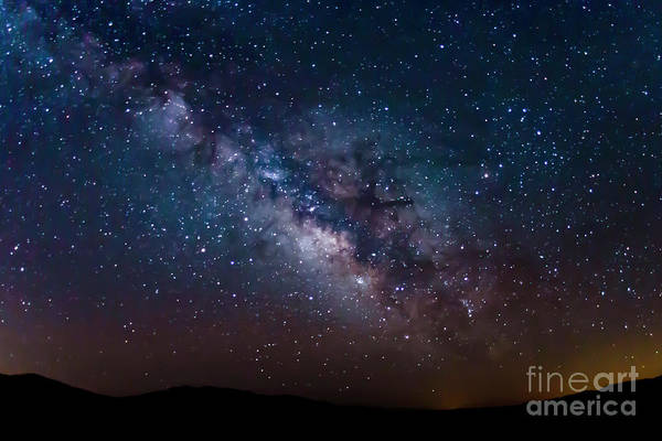 Photograph - Galactic Core by Mark Jackson