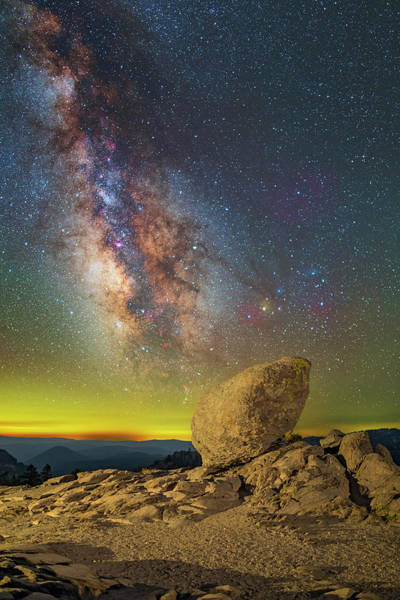 Photograph - Galactic Erratic by Ralf Rohner