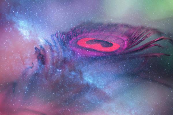 Photograph - Galactic Eye by Jenny Rainbow
