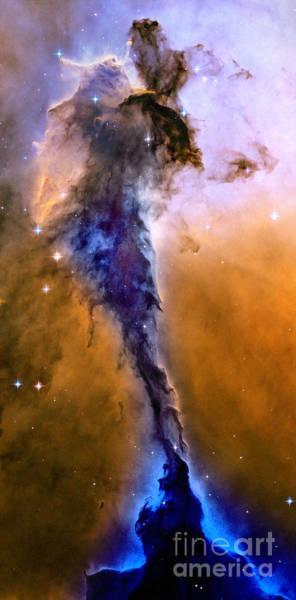 Evolution Photograph - Galactic Mermaid by Jon Neidert