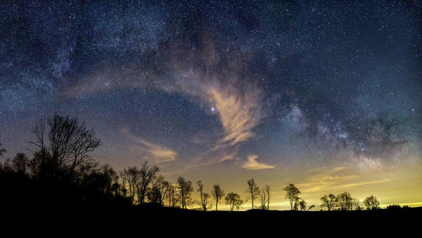 Photograph - Galactic Skies by Bill Wakeley