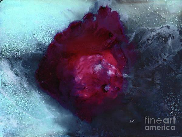 Wall Art - Painting - Galactical Eruption by Eunice Warfel