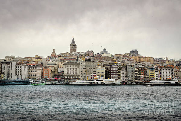 Photograph - Galata Tower, Istanbul by Perry Rodriguez