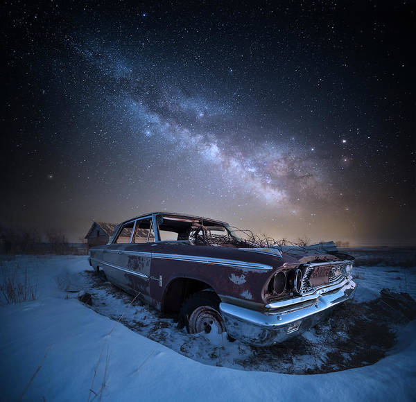 Photograph - Galaxie 500 by Aaron J Groen