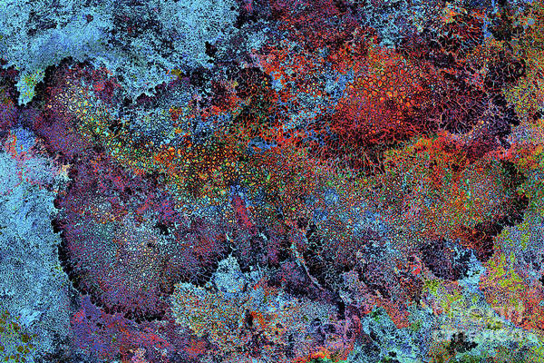 Galaxy Bellevue Plateau Art Print