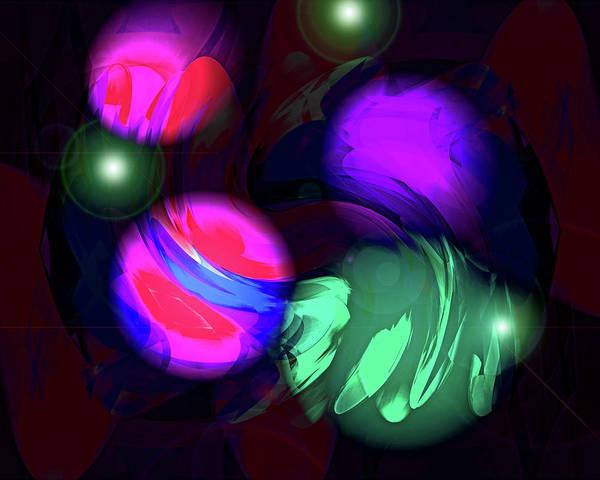 Painting - Galaxy Three by Lynda Lehmann