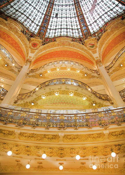 Galeries Lafayette Photograph - Galeries Lafayette Inside 12 Art by Alex Art and Photo