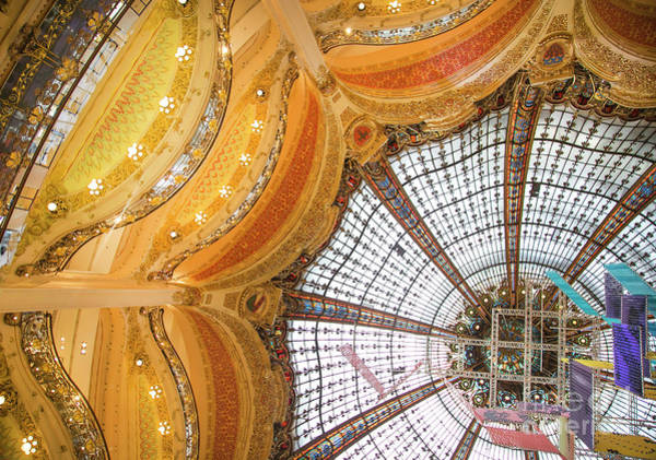 Galeries Lafayette Photograph - Galeries Lafayette Inside 13 Art by Alex Art and Photo