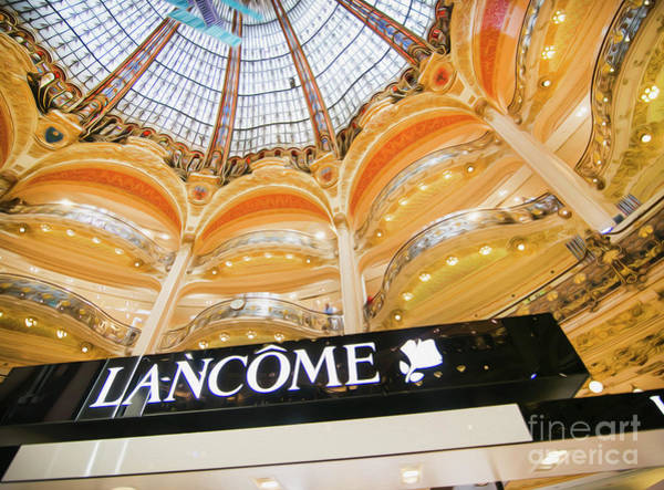 Galeries Lafayette Photograph - Galeries Lafayette Inside 2 Art by Alex Art and Photo
