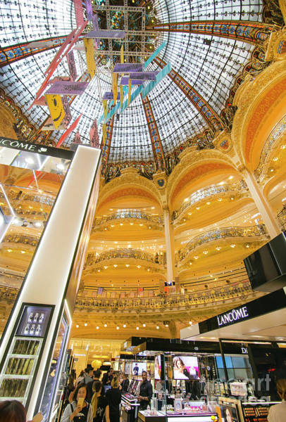 Galeries Lafayette Photograph - Galeries Lafayette Inside 9 Art by Alex Art and Photo