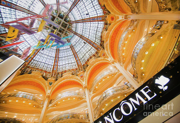 Galeries Lafayette Photograph - Galeries Lafayette Inside Art by Alex Art and Photo
