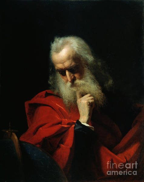 Elderly Painting - Galileo Galilei by Ivan Petrovich Keler Viliandi