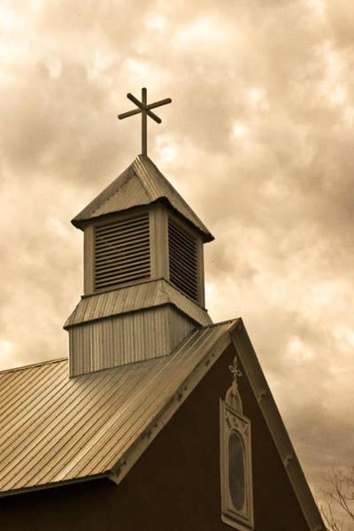 Photograph - Galisteo Church, New Mexico by Catherine Sobredo
