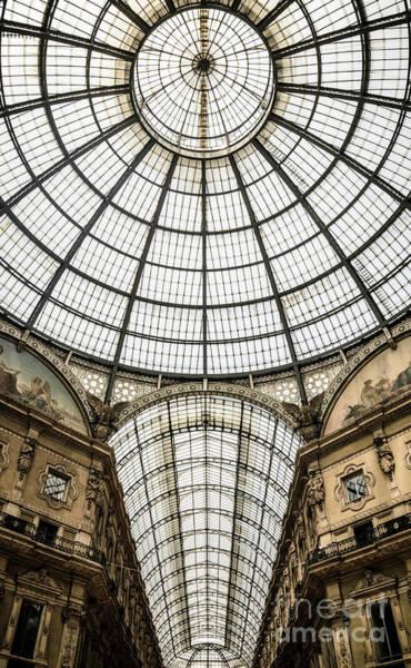 Wall Art - Photograph - Galleria Vittorio Emanuele II by Jason Knott