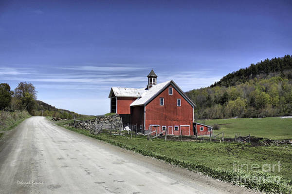 Photograph - Gallop Road Barn by Deborah Benoit