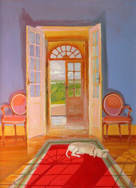 Doorways Painting - Galonne by William Ireland