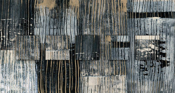 Wall Art - Photograph - Galvanized Paint Number 2 Horizontal by Carol Leigh
