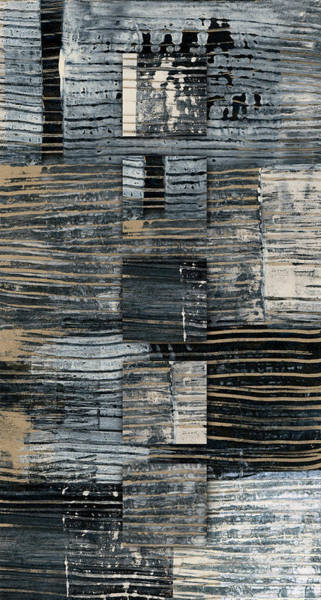 Wall Art - Photograph - Galvanized Paint Number 2 Vertical by Carol Leigh
