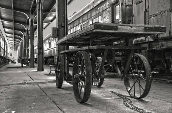 Photograph - Galveston Train Station by James Woody