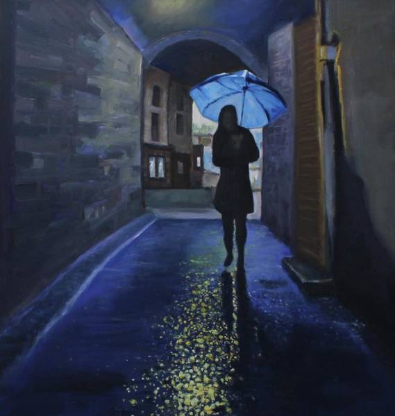 Painting - Galway Girl by Dennis Sullivan