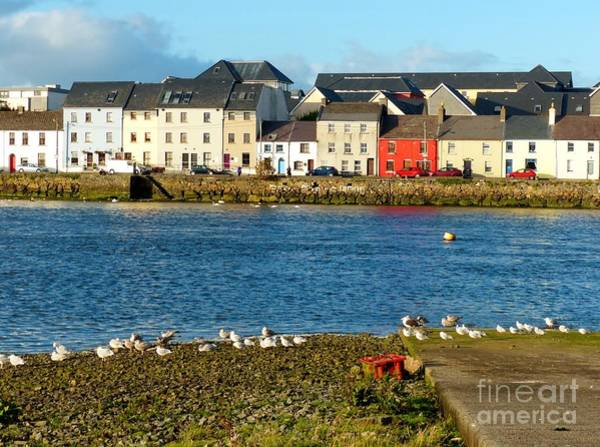 Photograph - Galway Townhouses by Rosanne Licciardi