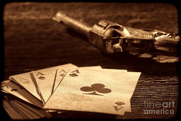 Photograph - Gambler Danger  by American West Legend By Olivier Le Queinec