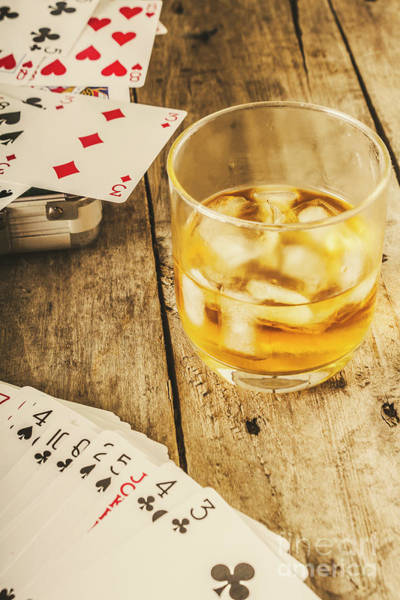 Scotch Wall Art - Photograph - Gamblers Still Life by Jorgo Photography - Wall Art Gallery