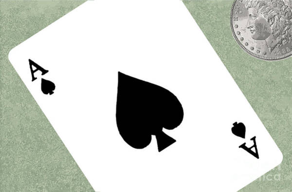 Deck Of Cards Digital Art - Gambling by Bigalbaloo Stock