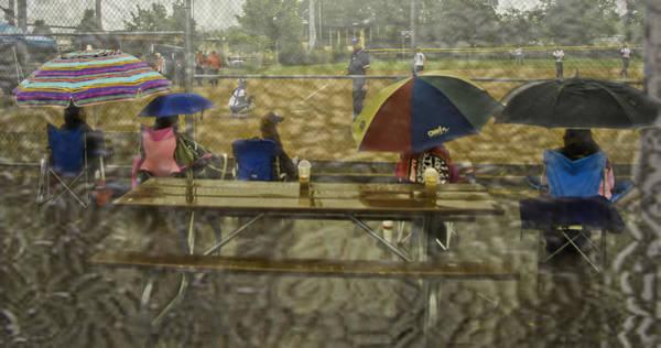 Softball Photograph - Game Watchers 2 by Dale Stillman