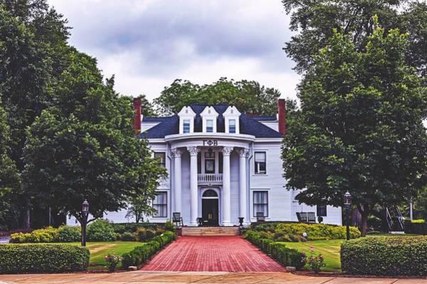 Phi Photograph - Gamma Phi Beta Sorority House - University Of Georgia by Library Of Congress
