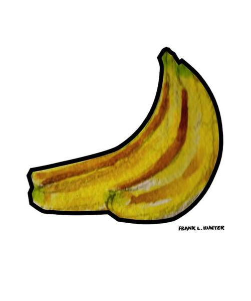 Painting - Bananas by Frank Hunter