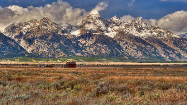 Photograph - Gand Tetons by Brenda Jacobs