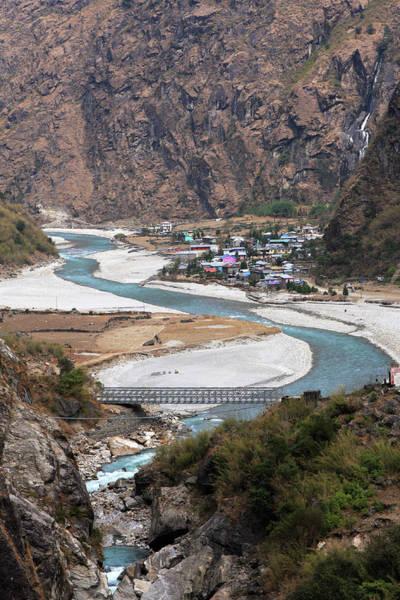 Photograph - Gandaki River, Nepal by Aidan Moran