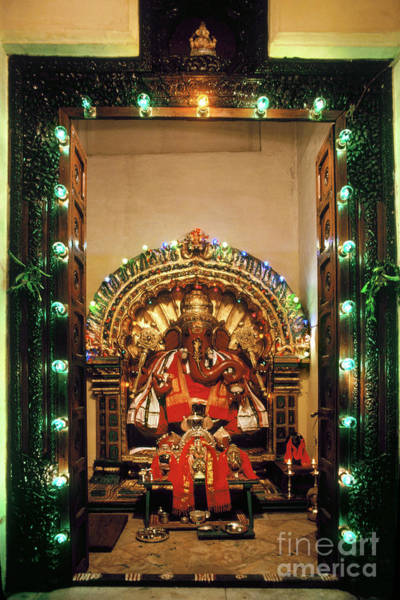Photograph - Ganesh Shrine by Granger