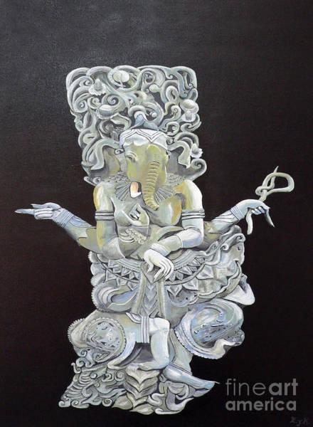 Painting - Ganesh The Elephant God by Eric Kempson