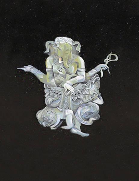 Mixed Media - Ganesha by Eric Kempson