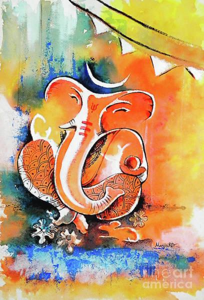 Ganesh Painting - Ganesha by Gallery Hermana