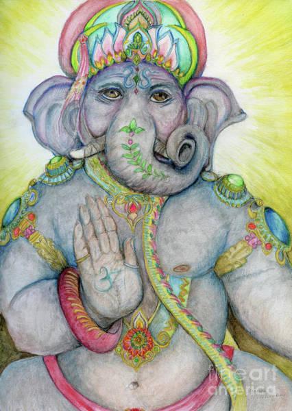 Painting - Ganesha by Jo Thomas Blaine