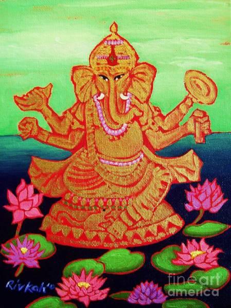 Initiation Painting - Ganesha by Rivkah Singh