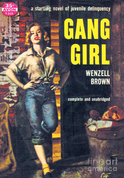 Painting - Gang Girl by Gilbert Fullington