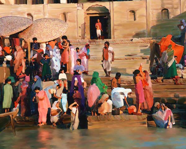 Photograph - Ganges by Kurt Van Wagner