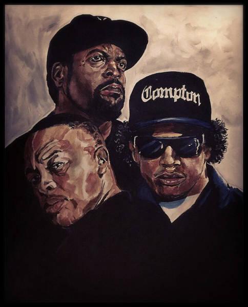 Gangsta Trinity Art Print