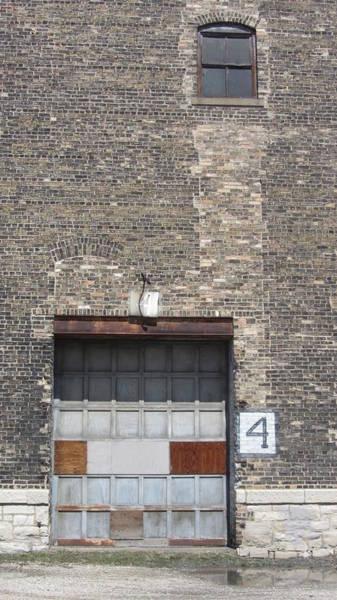 Photograph - Garage Door Industrial 2 by Anita Burgermeister