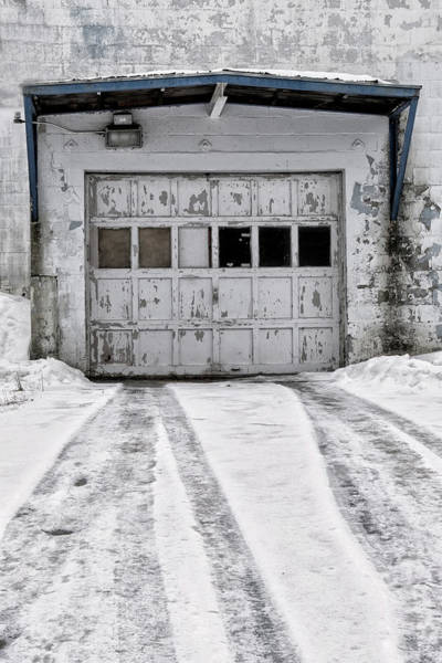 Photograph - Garage Door by Tom Singleton